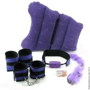 Набор Fetish Fantasy Series Purple Pleasure Bondage Set Фото
