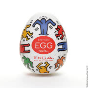 Японские мастурбаторы Tenga - мастурбатор tenga keith haring egg dance фото