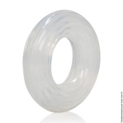 Кольца и лассо на член - эрекционное кольцо premium silicone ring large фото